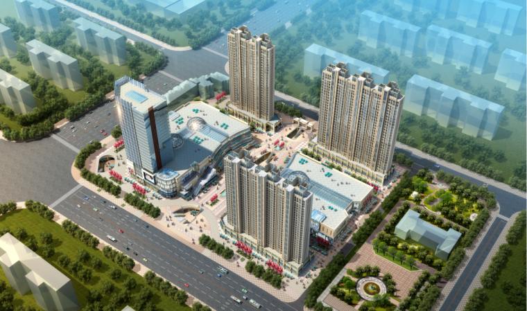 [河南]超高层多业态城市综合体方案设计