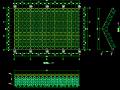正方四角锥螺栓球节点网架施工图