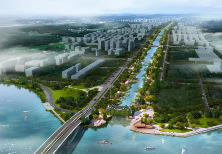 某河滨水景观工程景观概念方案设计文本(PDF+131页)