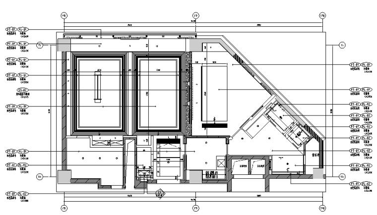 400平方酒店设计施工图(附效果图)_5