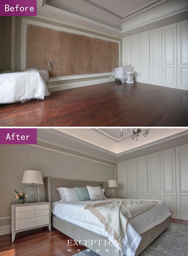 Before & After 对比图:-燕尔臻邸--深圳鲸山觐海复式软装设计第18张图片