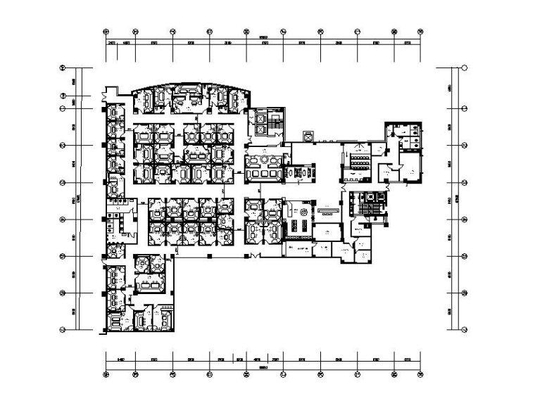 [滁州]十年纯K量版式KTV设计施工图(含效果图)