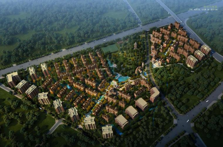 [重庆]英式经典风格高端住宅建筑设计方案文本