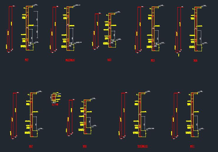 地下室外墙设计计算书(附地库墙配筋图及地外墙平面布置图)