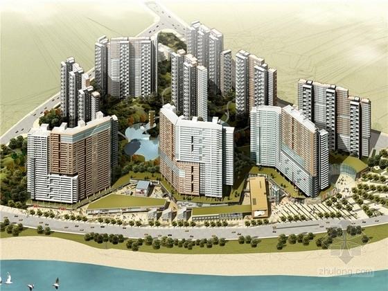 [重庆]现代风格高层住宅小区规划设计方案文本