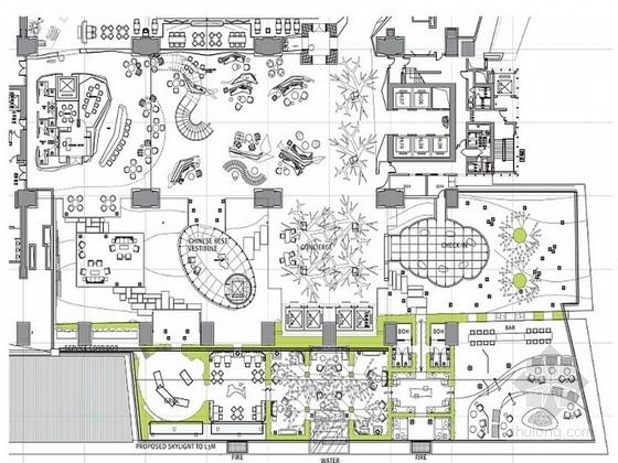 [香港]融合中国意象时尚精致酒店室内设计方案