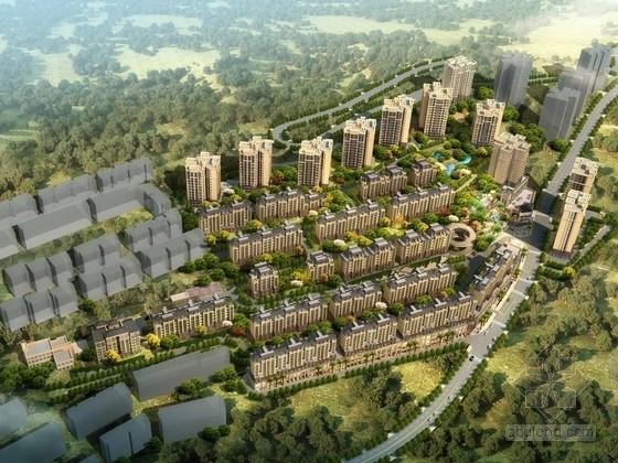 [重庆]古典风格住宅区规划设计方案文本(含120余张图)