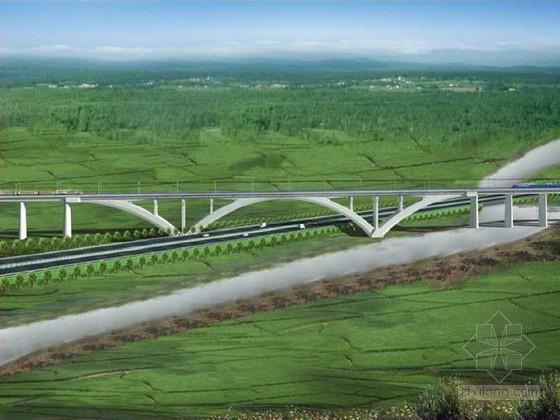 [浙江](88+160+88)m自锚上承式拱桥转体施工方案66页(钢套箱围堰)