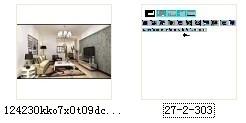 [常德]花园洋房现代简约两居室设计装修图(含效果)资料图纸总缩略图