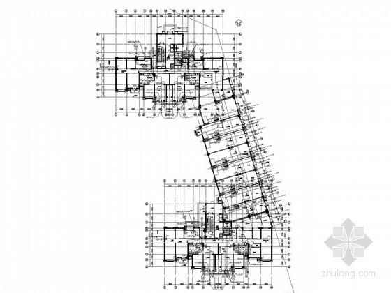 [天津]高层住宅及地下车库给排水消防施工图