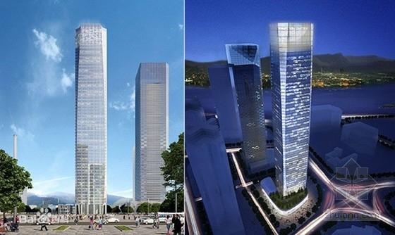 [福建]53层框架核心筒结构超高层环球大厦结构施工图(249米 含详细建筑图)