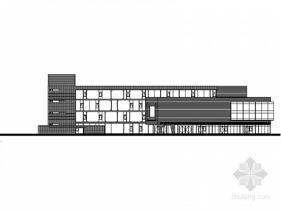 [江西]多层现代风格商业街建筑设计施工图(含多栋楼知名设计院)