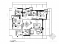[宁波]电梯花园洋房现代风格四居室装修施工图