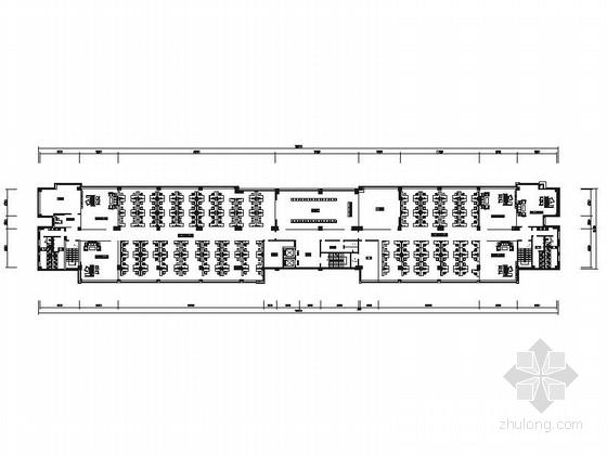 [重庆]大型汽车生产厂商现代化办公楼施工图
