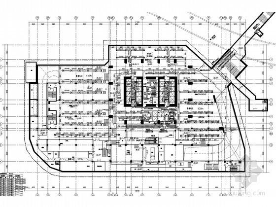 [广东]超高层商业中心空调通风及防排烟系统设计施工图(人防设计)