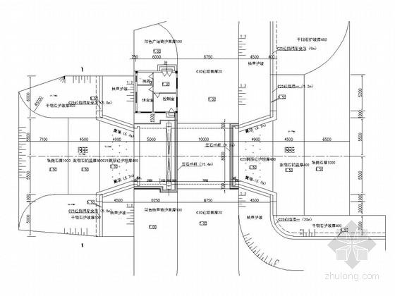[广东]小型节制闸工程施工图