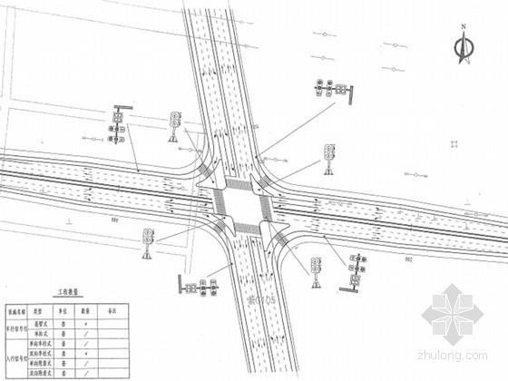 [安徽]新标准编制省道改建工程全套施工图设计780张(路桥涵景观)