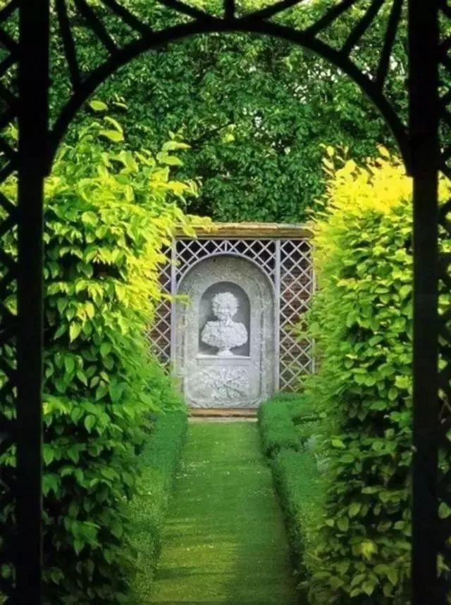 手绘解析小花园细部设计