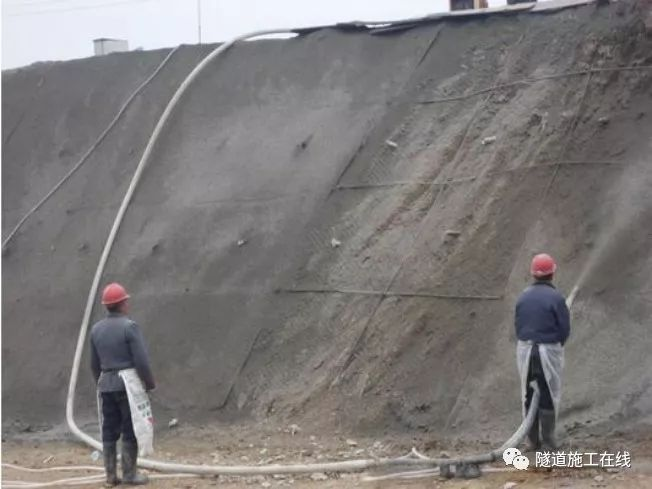 锚喷支护结构的设计与施工资料下载-喷锚支护施工流程和技术要求