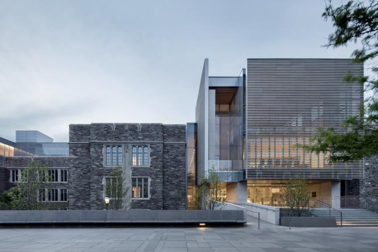 普林斯顿大学教学楼与国际大厦
