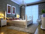 简约欧式卧室3D模型下载