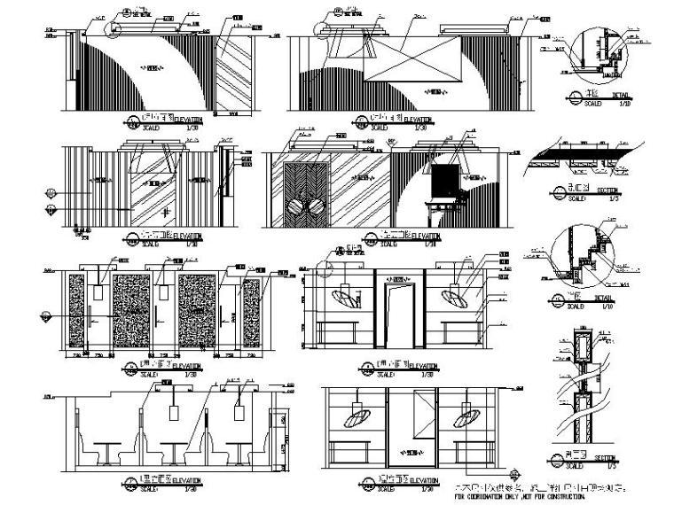 [山西]全套详细的酒店设计施工图(含效果图)_3