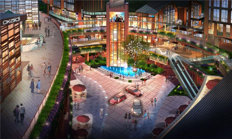 长沙松雅湖·未来漫城景观-9