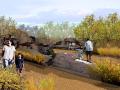 [陕西]新城中心绿廊景观总体概念规划设计