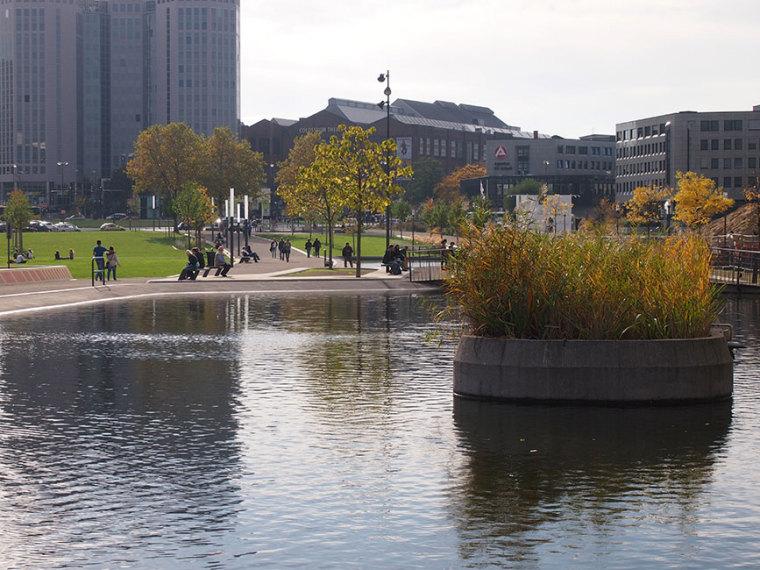 德国埃森大学公园景观设计_17