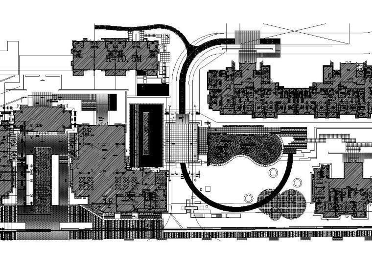 [上海]东原惠南示范区景观施工图设计(CAD)