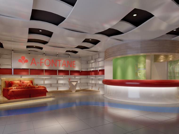 现代家纺专卖店3D模型下载