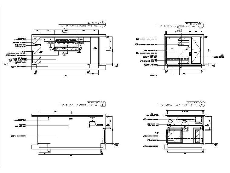 [香港]简约格调设计三居室施工图(含实景图)_4