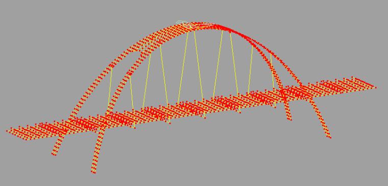各类型桥梁madis模型568个