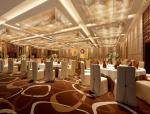 大型宴会厅3D模型下载