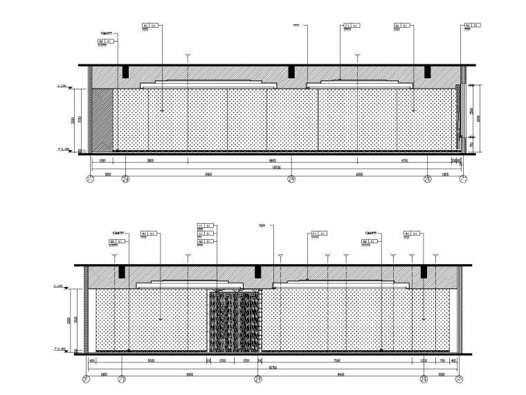 [新疆]金螳螂设计——沙湾大酒店内部装修施工图(附效果图+设计文案)_5