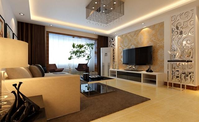 升龙天汇广场-109平米-欧式风格装修设计图