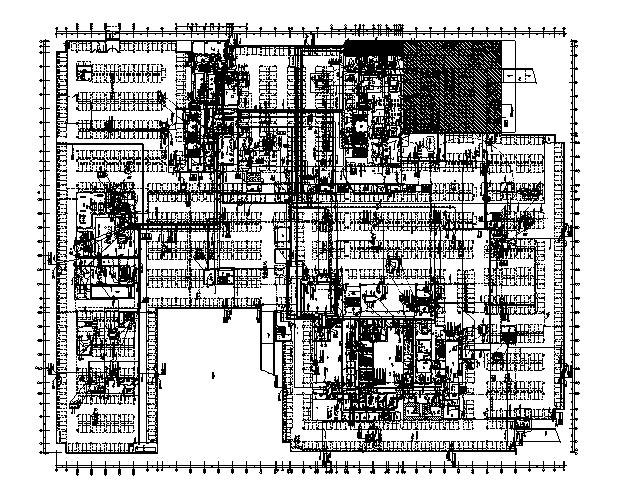 第一人民医院拆迁项目电气全套施工图