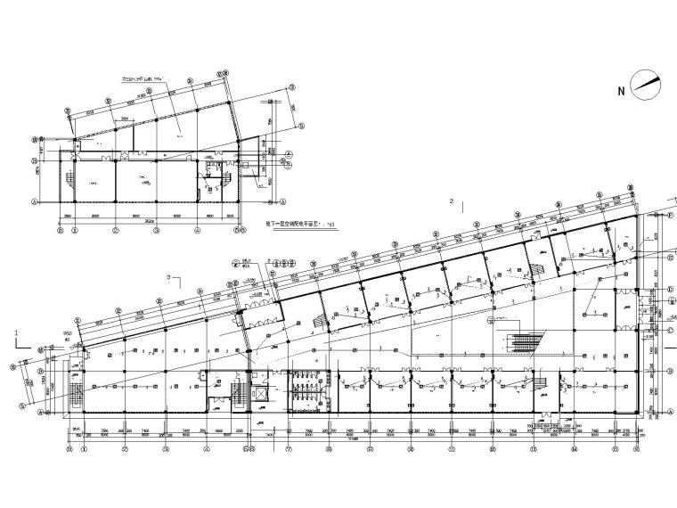 整套商住楼的电气设计图(13张,含各种配电系统图)