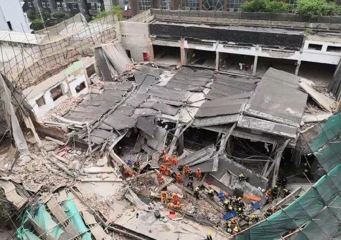 上海一4S店工地发生坍塌!10死15伤,施工安全仍需努力!