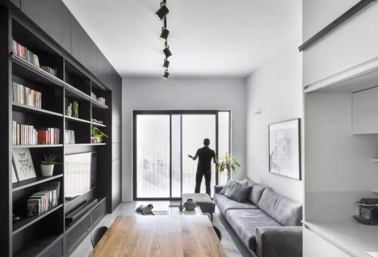 44平米的度假公寓,定制出的完善生活!