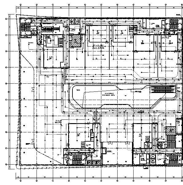 北京北化商业及居住区改造电气施工图