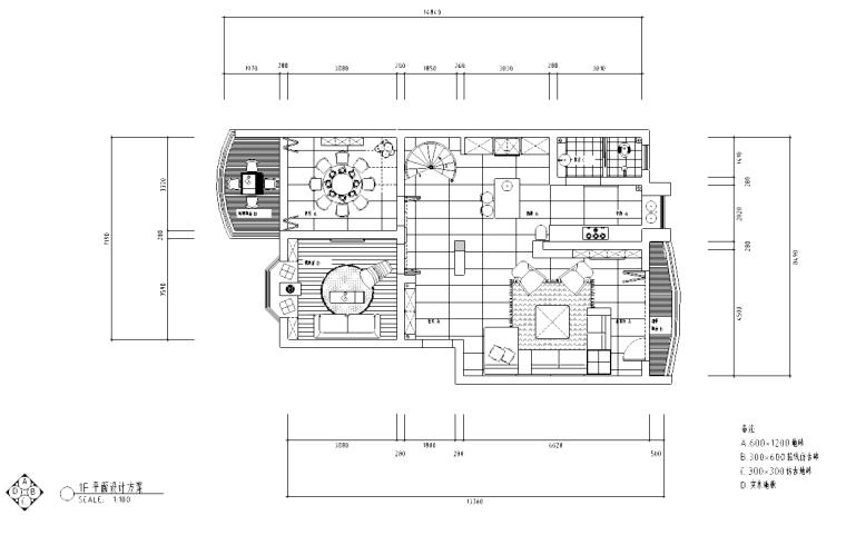 [广东]某设计师创作住宅施工图及实景图