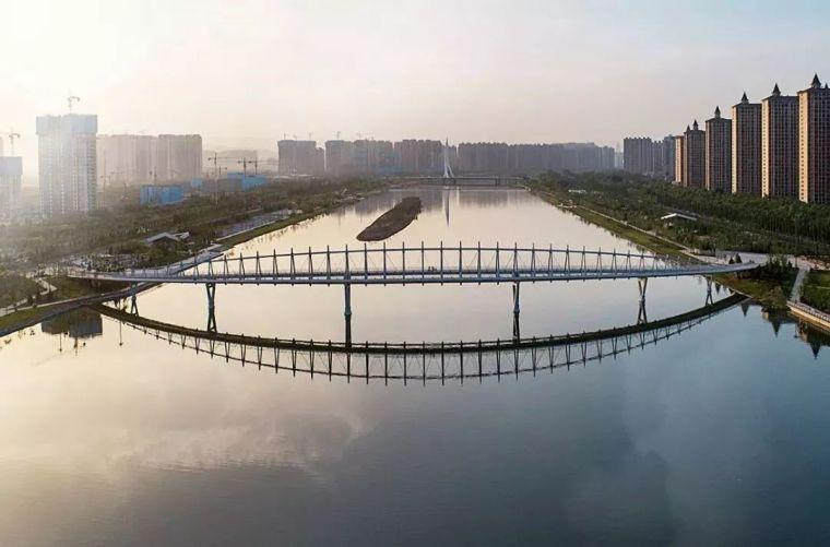 """太原""""汾河之冠""""人行景观桥,尽展结构技艺之美!_10"""