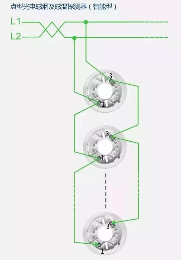 必看!消防产品电气接线原理图