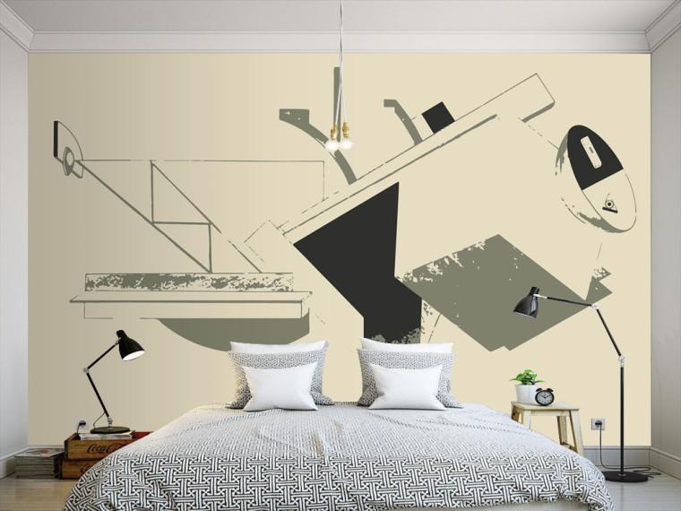 拒绝平庸,有什么墙纸可以比得上手绘的个性涂鸦墙呢?_6