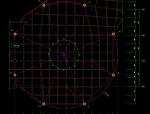 某空间钢框架结构玻璃穹顶结构cad施工
