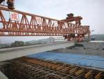 永和大桥正式进入桥梁架设阶段, 预计今年10月前全面竣工。