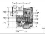 福建某全日制餐厅室内装修设计施工图(28张)