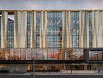 新西兰抗震图书馆丨城市文化的弹性容器