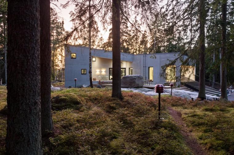 芬兰K别墅景观